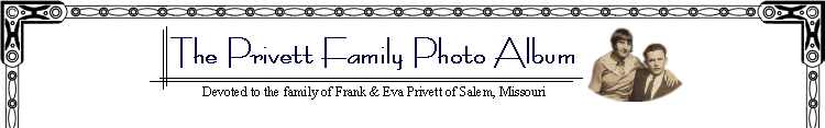 Privett Family Website